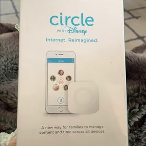 Disney Circle -new in box and plastic still intact